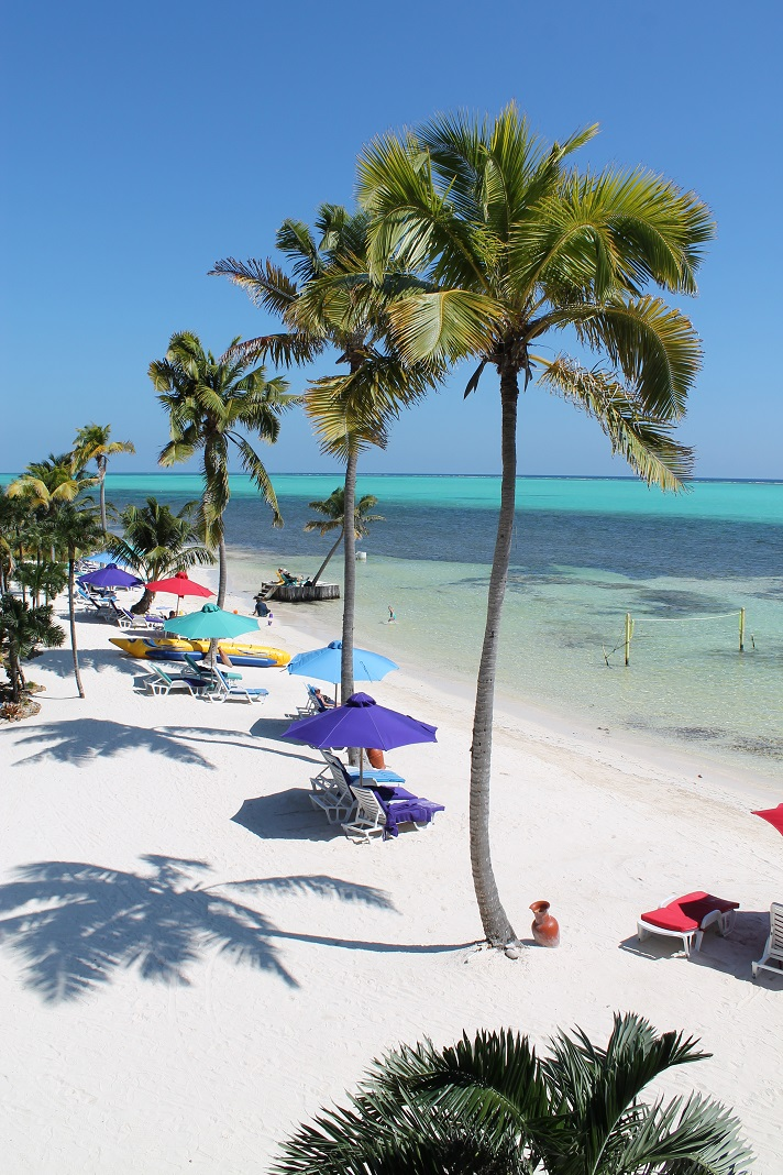 X'tan Ha Resort of northern Ambergris Caye offers one of the finest swimming beaches on the island