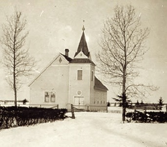 Bethany Covenant Church in Norquay, SK, first location of the school.