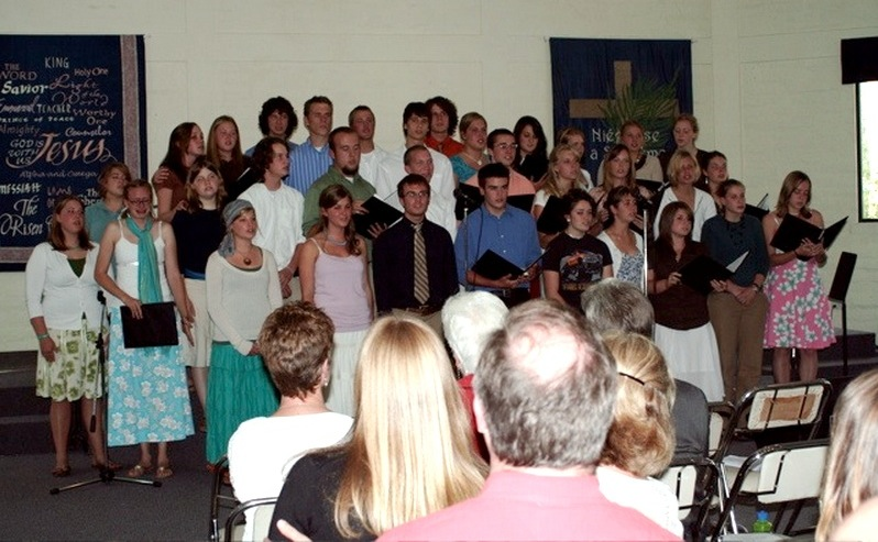 The final graduating class at CBC Ecuador, 2007.