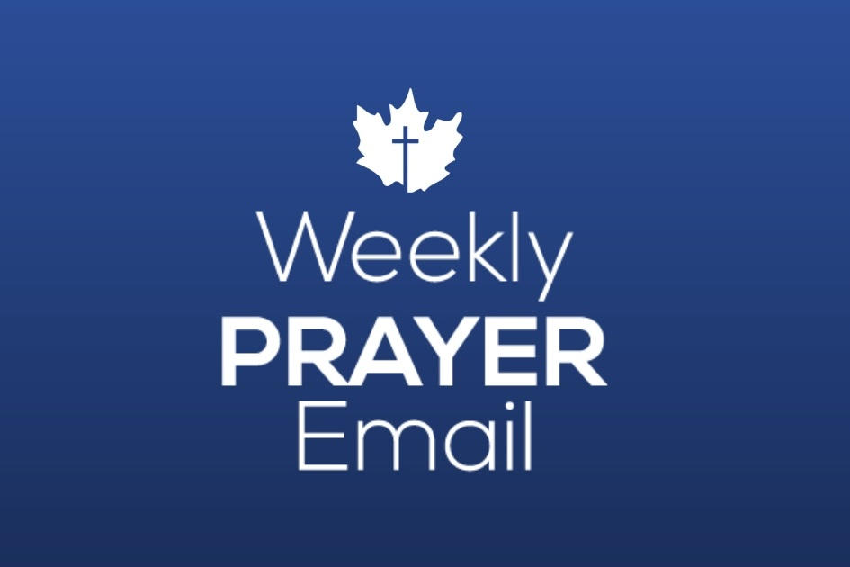 Pray with us each week for the ministries of our conference and stay updated on ECCC news and events. -