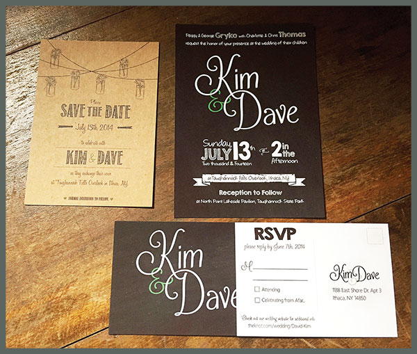 Save the Date & Invitation Package