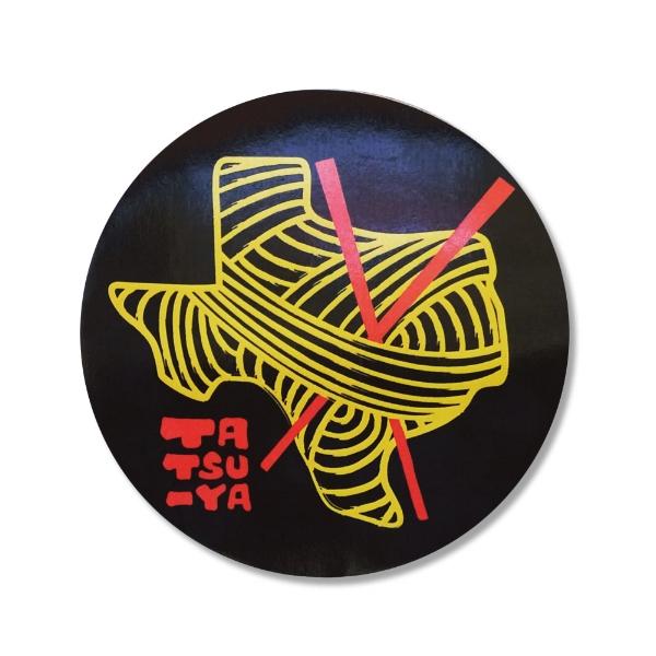 Vinyl sticker design.