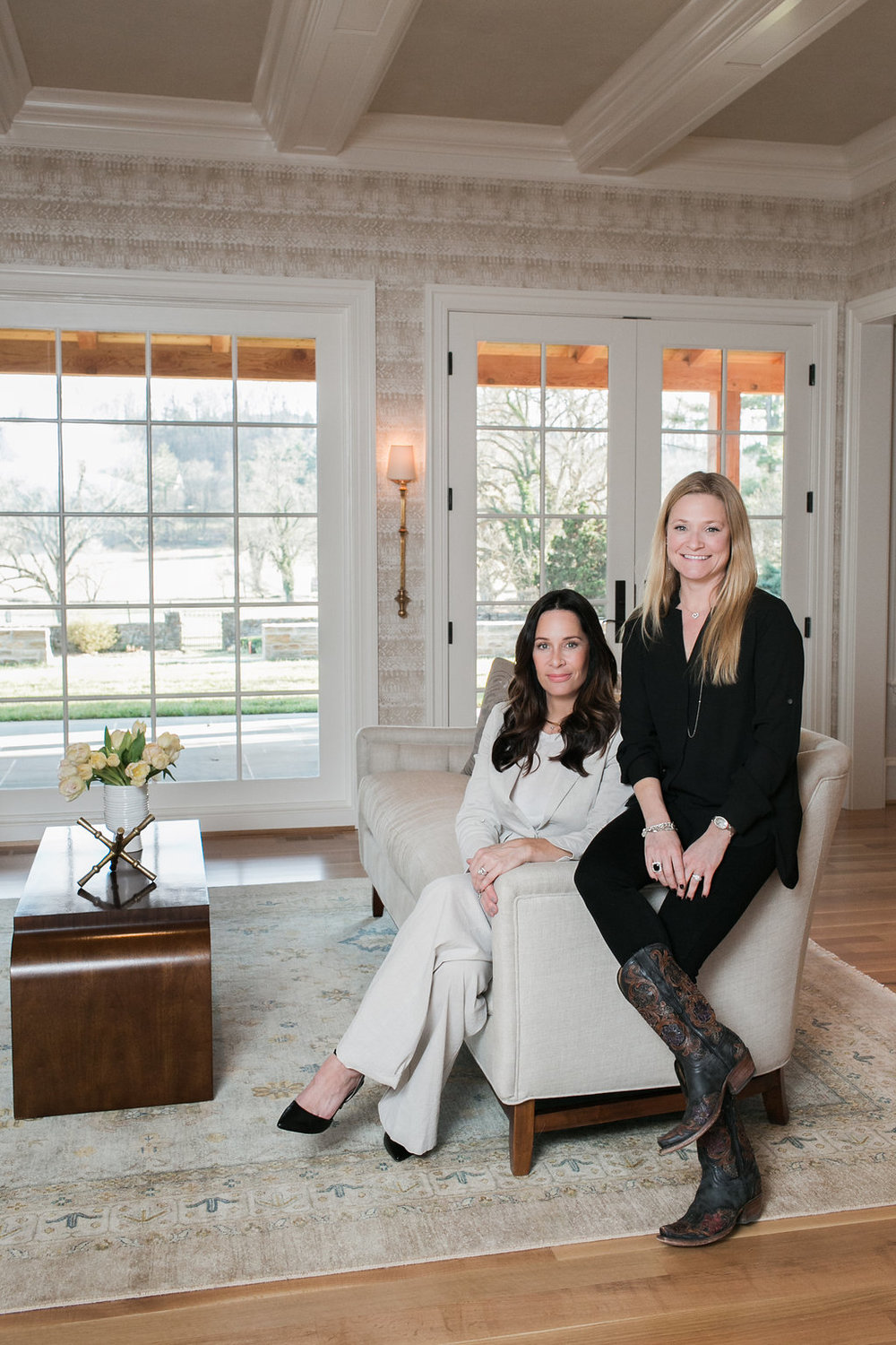 Juliette Palarea of JPStyles with her client of Meadowdale