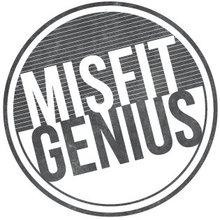 Misfit Genius is a lifestyle clothing brand, built on five foundational Values that empower Thinking, Leading and positive Influencing.  Our mission is to inspire the world to Embrace the Misfit & Become the Genius.