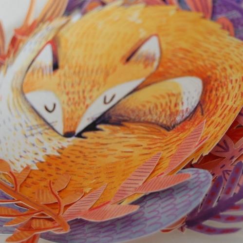 sun fox, moon fox