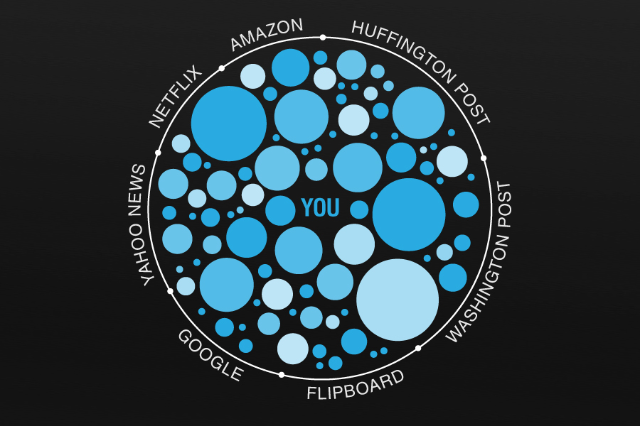 the filter bubble I recently read the filter bubble – what the internet is hiding from you by eli  pariser as you're probably aware, google looks at your search.