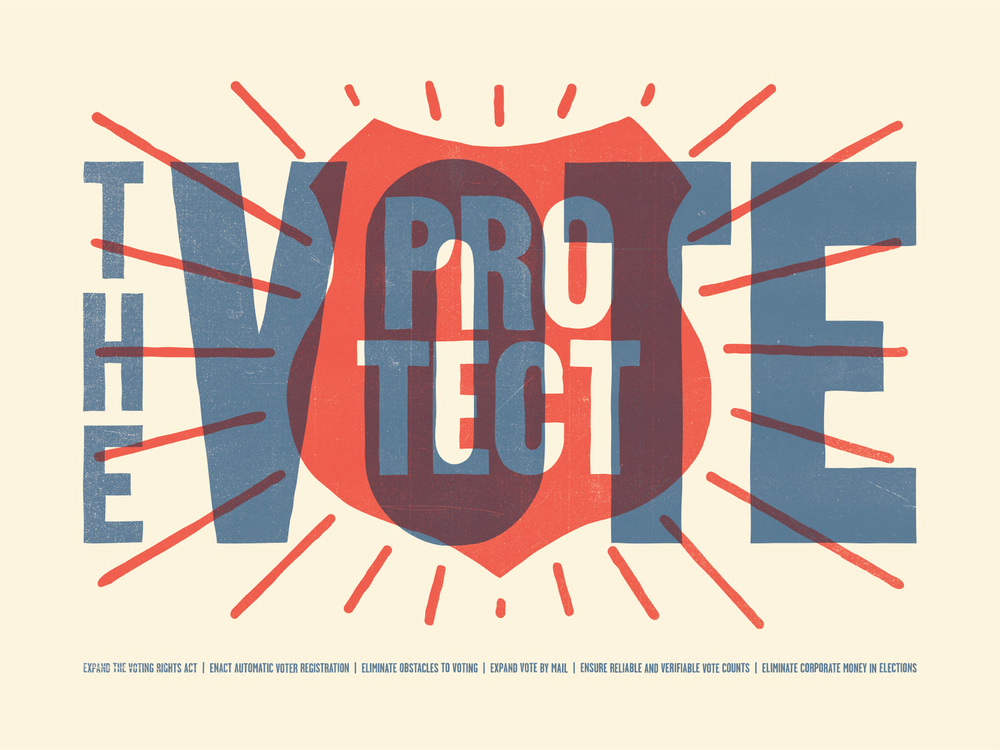 Protect the Vote by Oxide Design Co.