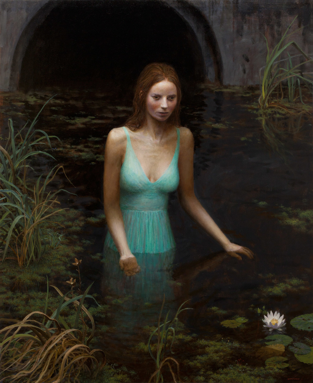 The Source , oil on canvas, 50 x 40 in / 127 x 102 cm, 2012