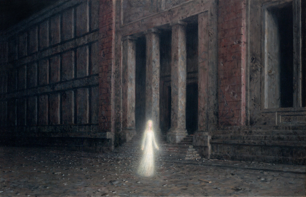 The Night , oil on canvas, 20 x 30 in /  51 x 76 cm, 2011