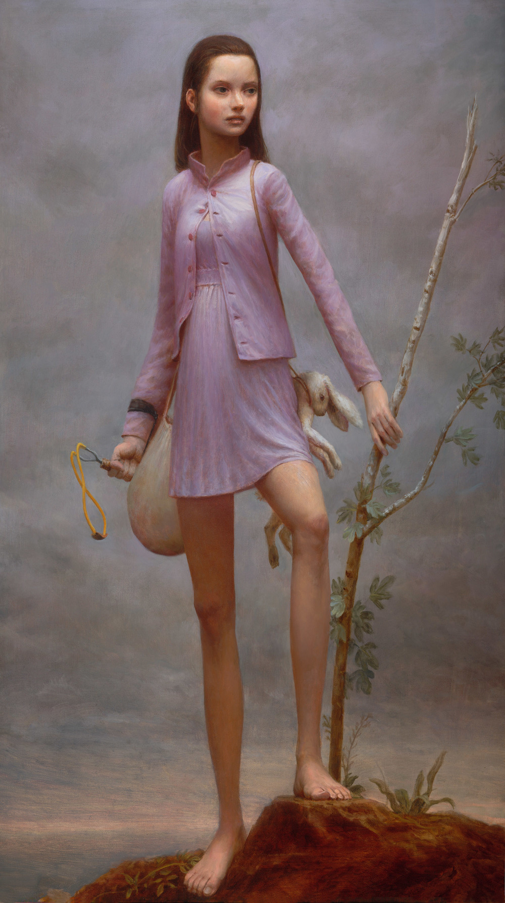 The Delegate's Daughter , 56 x 32 in, 2007