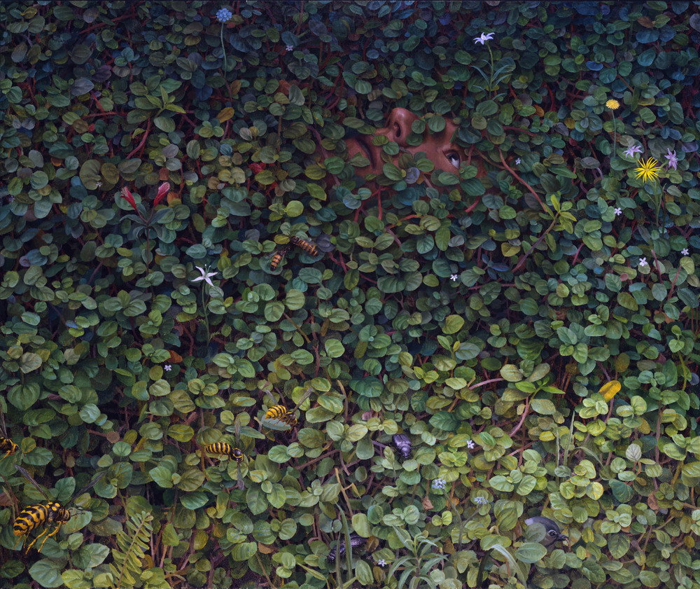 Forest 2 , oil on canvas, 60 x 72 in, 2003