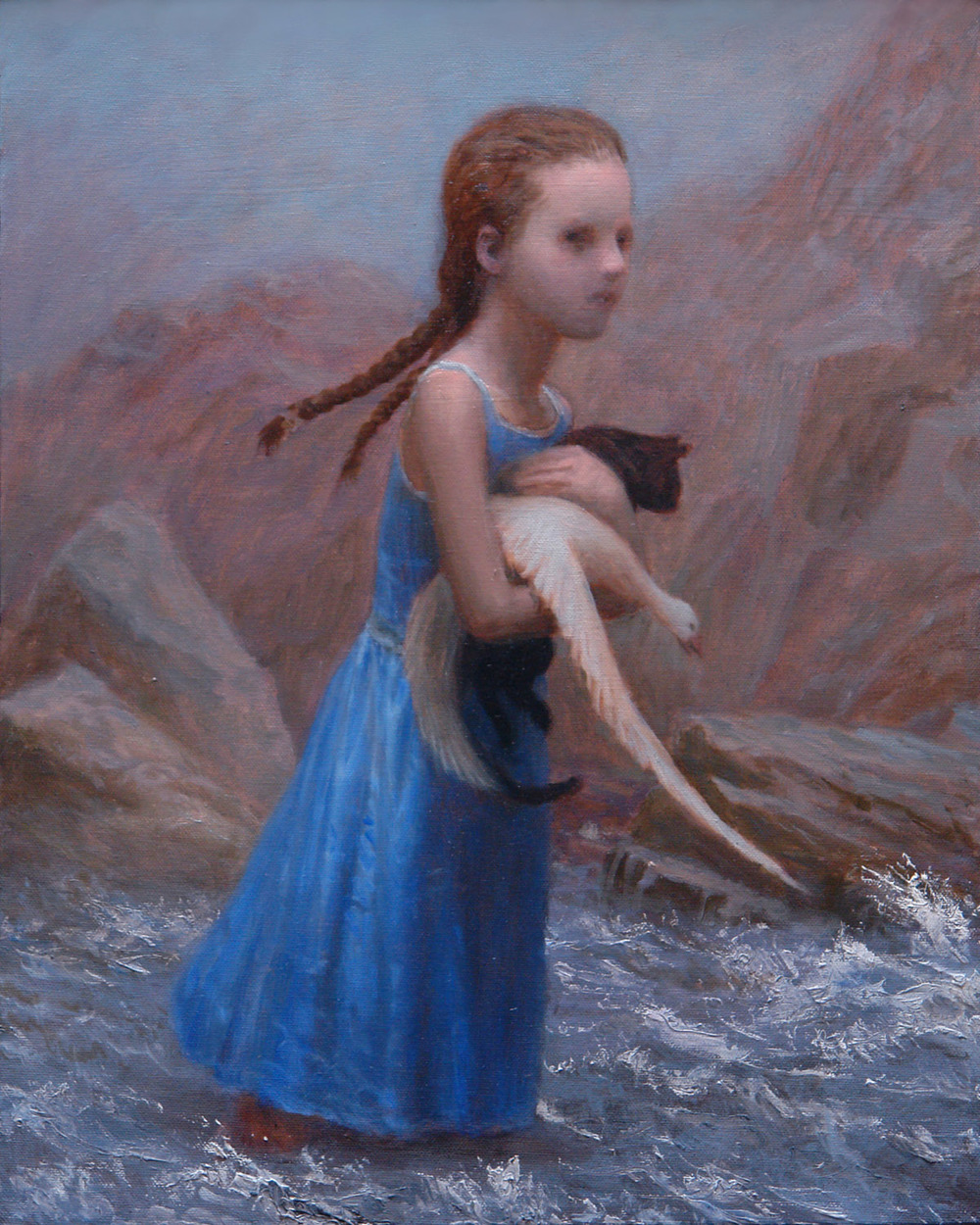 Runaway , oil on canvas, 20 x 16 in, 2006