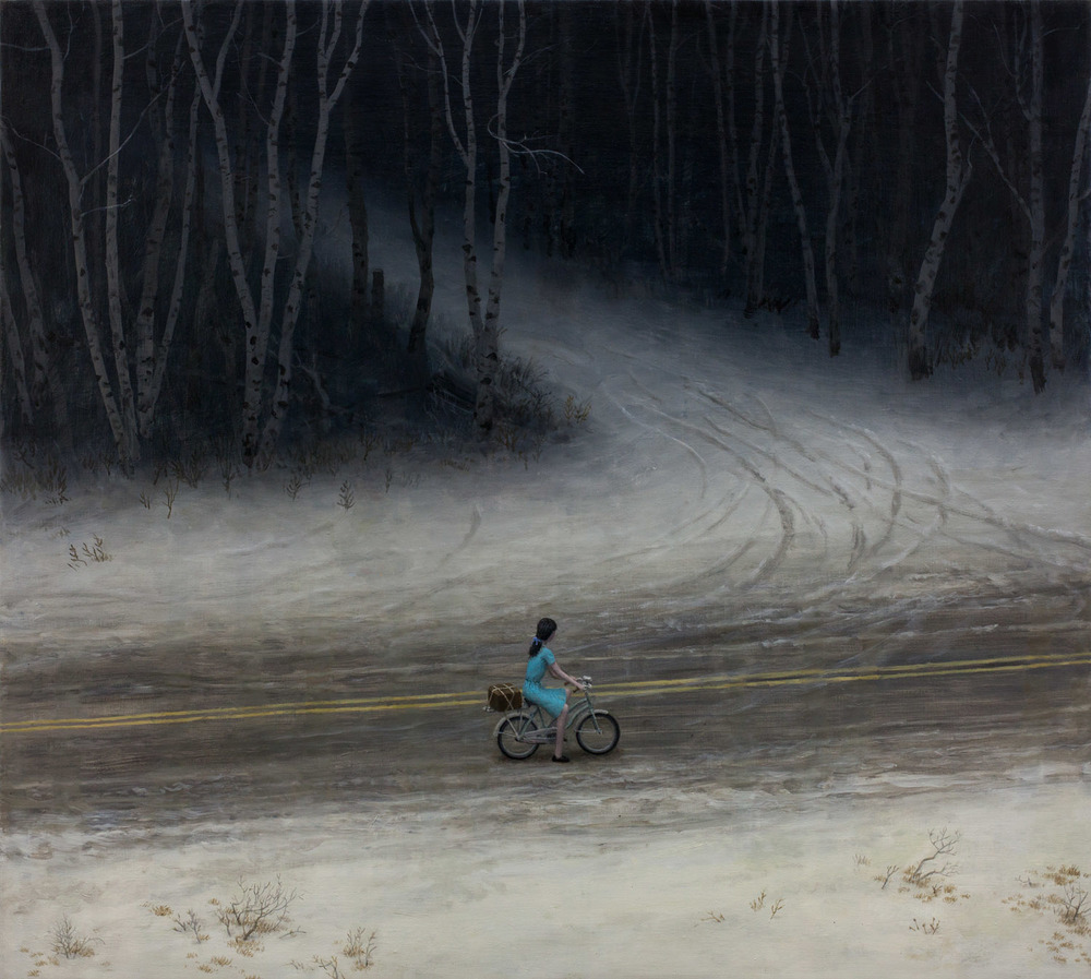 The Return , oil on linen, 30 x 33.5 in, 2014