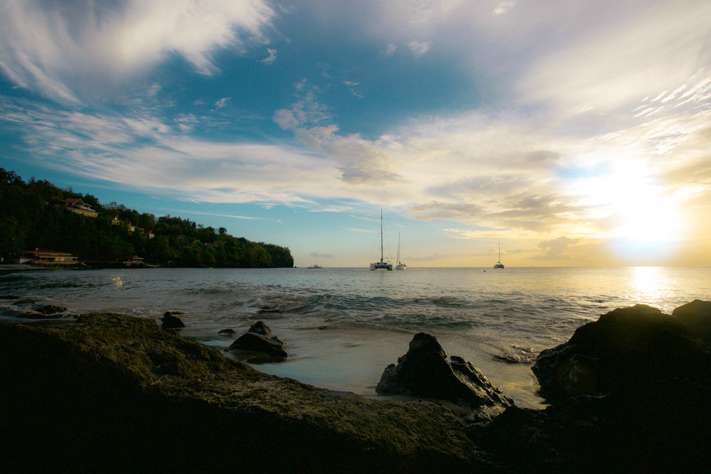 Anse Cochon Beach St. Lucia Photography Courtesy of The Aisle Photography