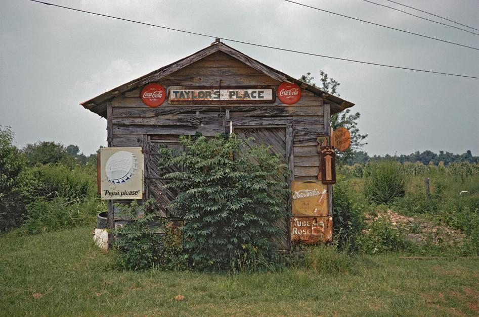Taylor's Place, near Greensboro, Alabama, 1974 by William Christenberry