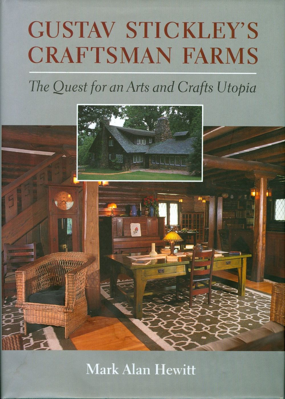 Mark Hewitt's 2001 monograph on Gustav Stickley was named one of the top 25 books by a New Jersey author by Rutgers University.