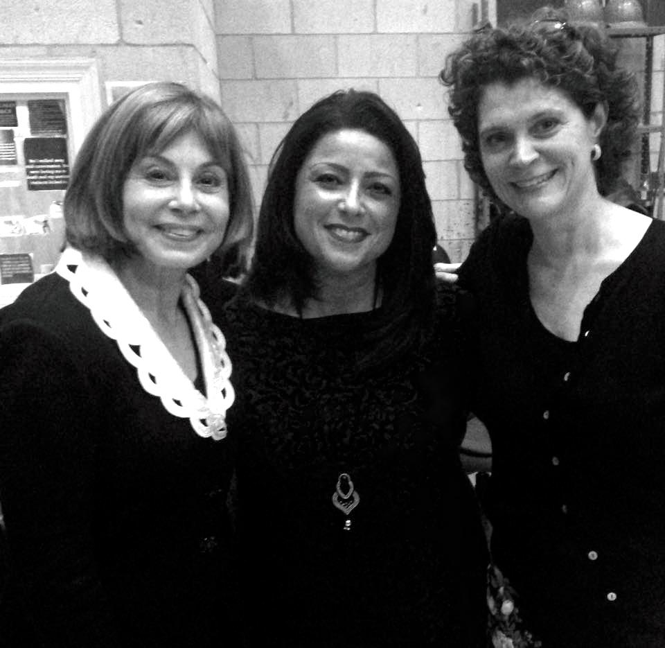Mentor and Friend JoAnn Falletta and Friend and Colleague Helen Martell