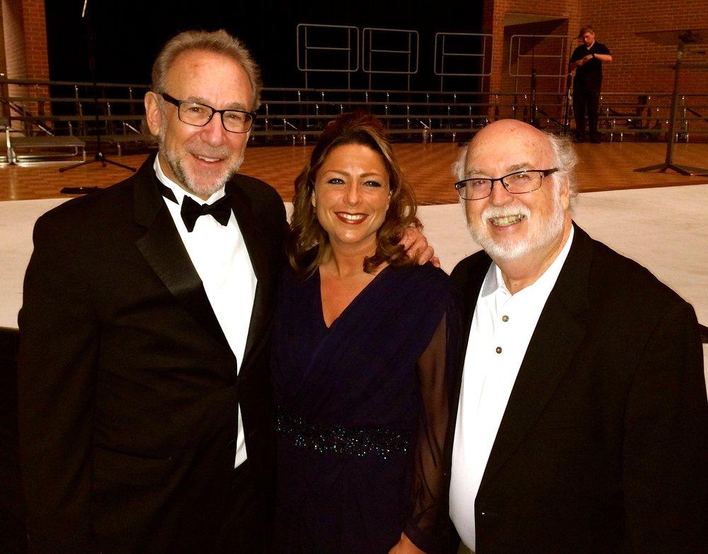 My two principal conducting teachers Bob Bernhardt and Dr. David Holsinger
