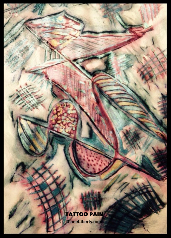 Tatoo Pain by Diane Liberty