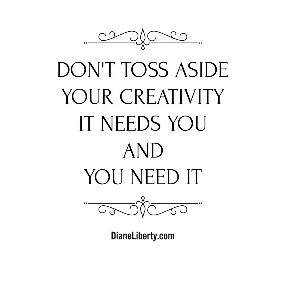 Your Creativity Needs You