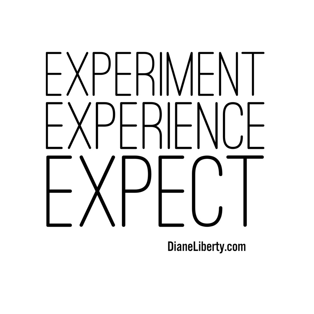 Experiment - Experience - Expect