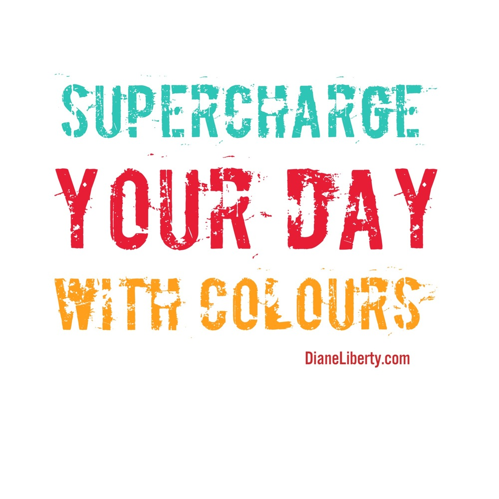 Supercharge Your Day With Colours