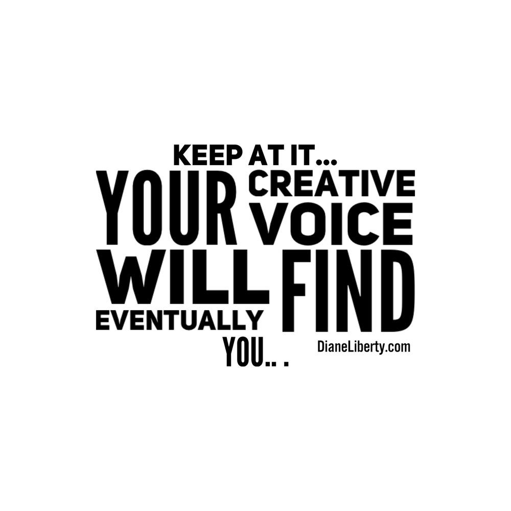 Keep At It...