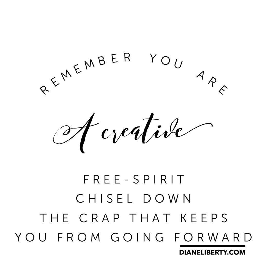 You Are A Creative Spirit