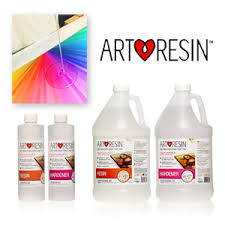 ArtResin.com - High-gloss epoxy resin clear coat that makes pieces POP while protecting them