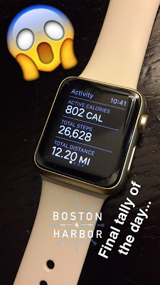 PAX East Walking Record