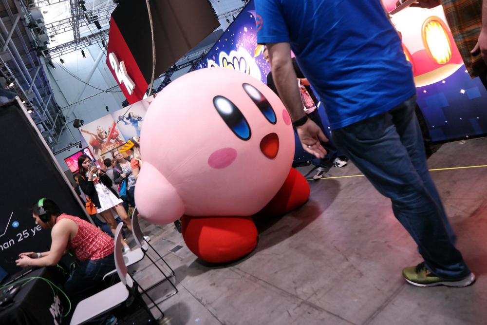 Nintendo Booth Kirby.JPG