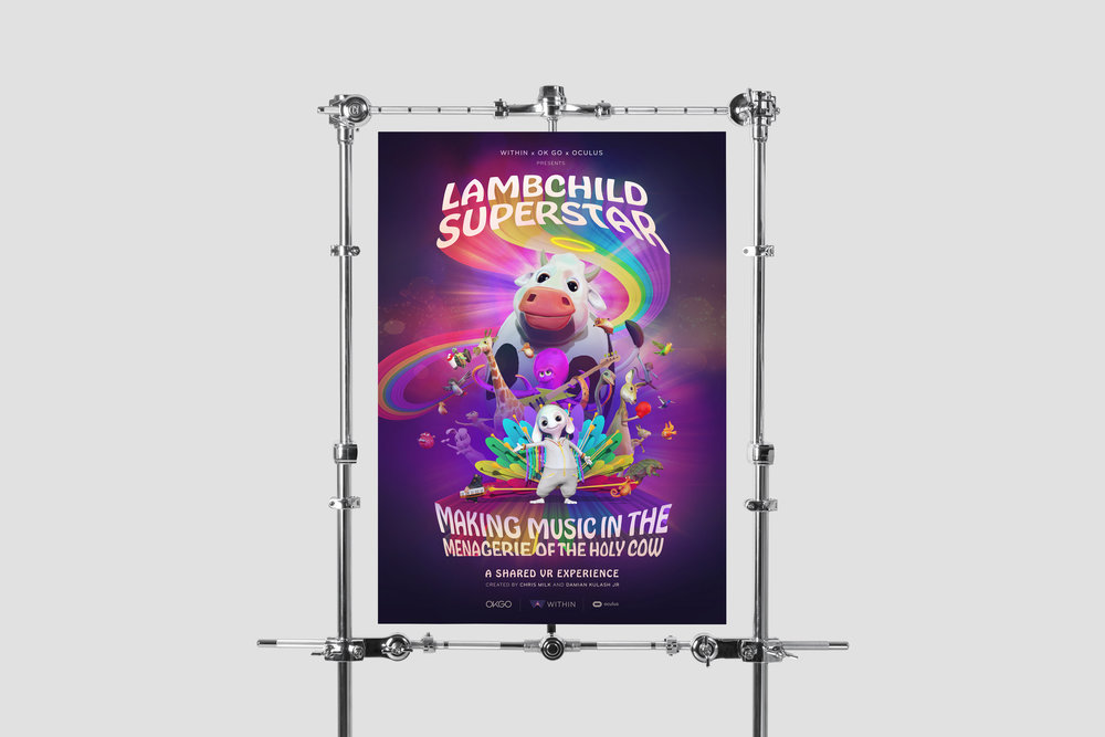 'Lambchild Superstar' poster  Created with Jona Dinges