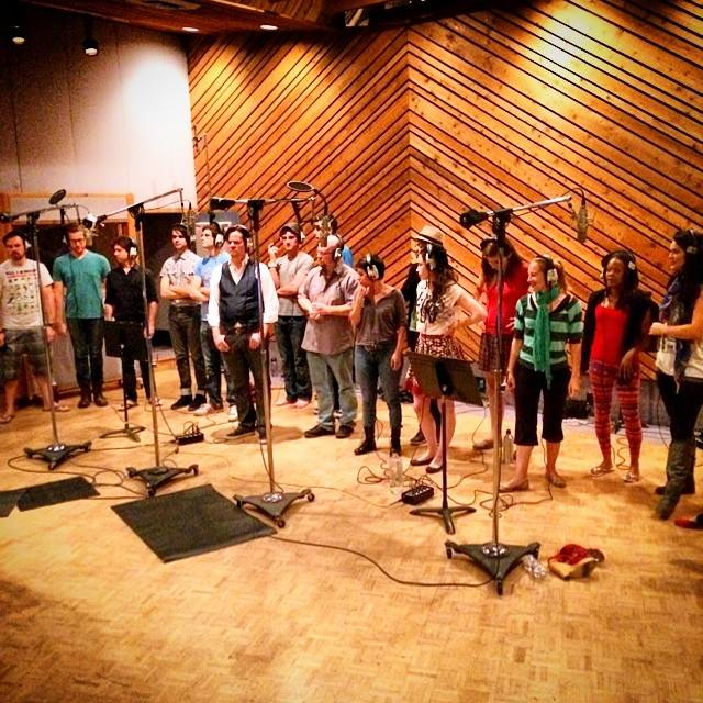 Recording Dorian's Descent original cast album - DOMA Theatre/Requiem Media
