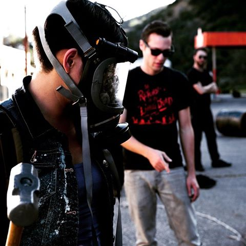 Behind the Scenes shot of Virulence - Sonic State Digital - photo by Ali Askari