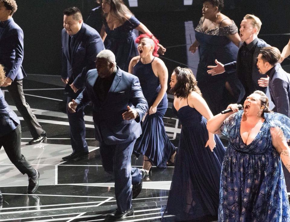"""This is Me"" - performing with Keala Settle live at the 90th Academy Awards Ceremony."