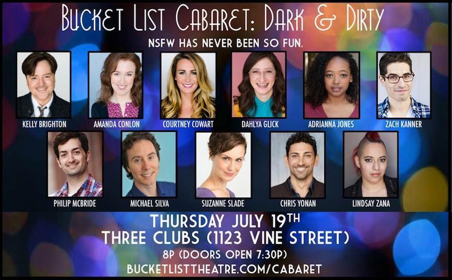 Bucket List Cabaret: Dark & Dirty cast