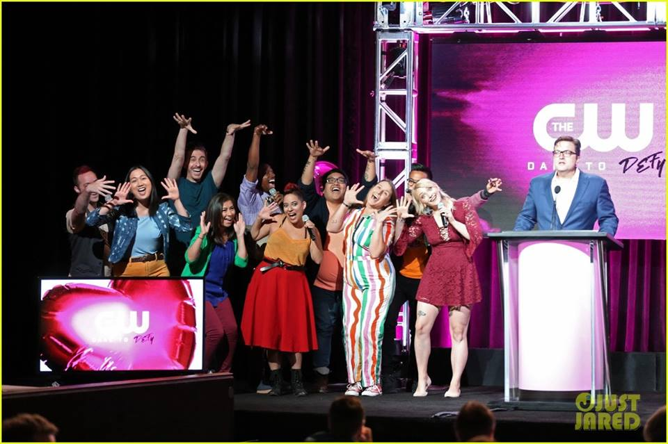 "Singing with ""Top Pop"" - Crazy Ex-Girlfriend Season 4 TCA Panel - The CW"