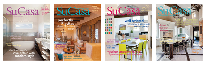 A few of our cover placements for Su Casa Magazine