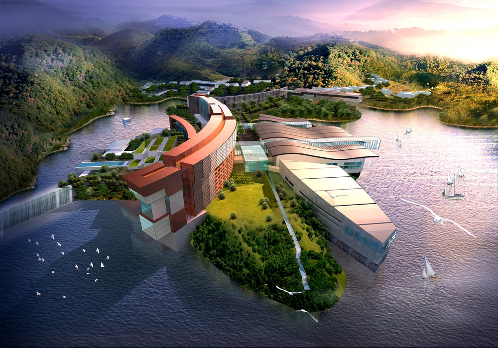 Rising Dragon Resort Design Competition