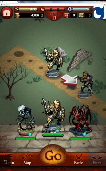 図1 ゲーム画面