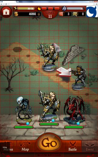 図2 最適化前のゲーム画面