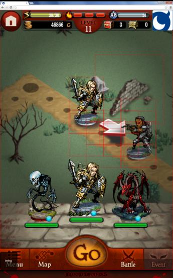 図7 最適化後のゲーム画面