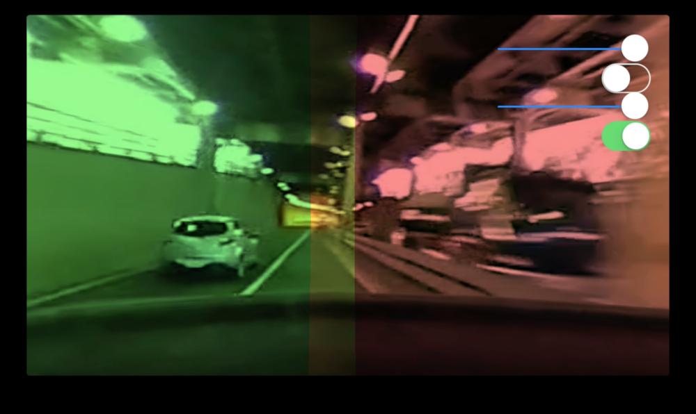 図6図7図8図9図10図11:レンズごとに色を変える