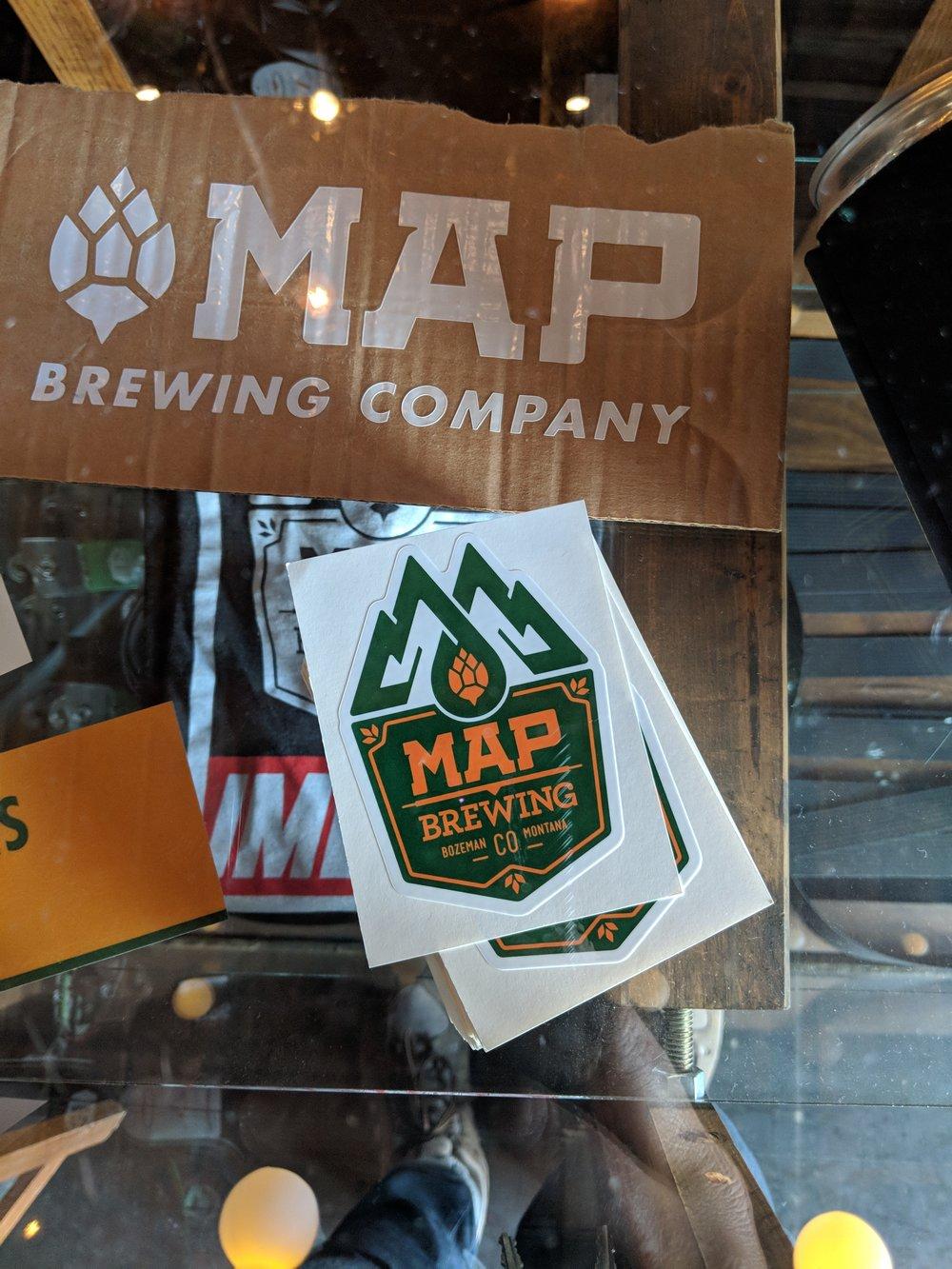 Visiting map Brewing