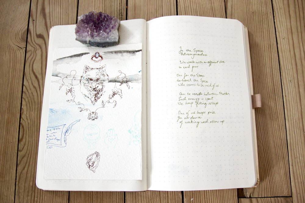 Pages from my journal.