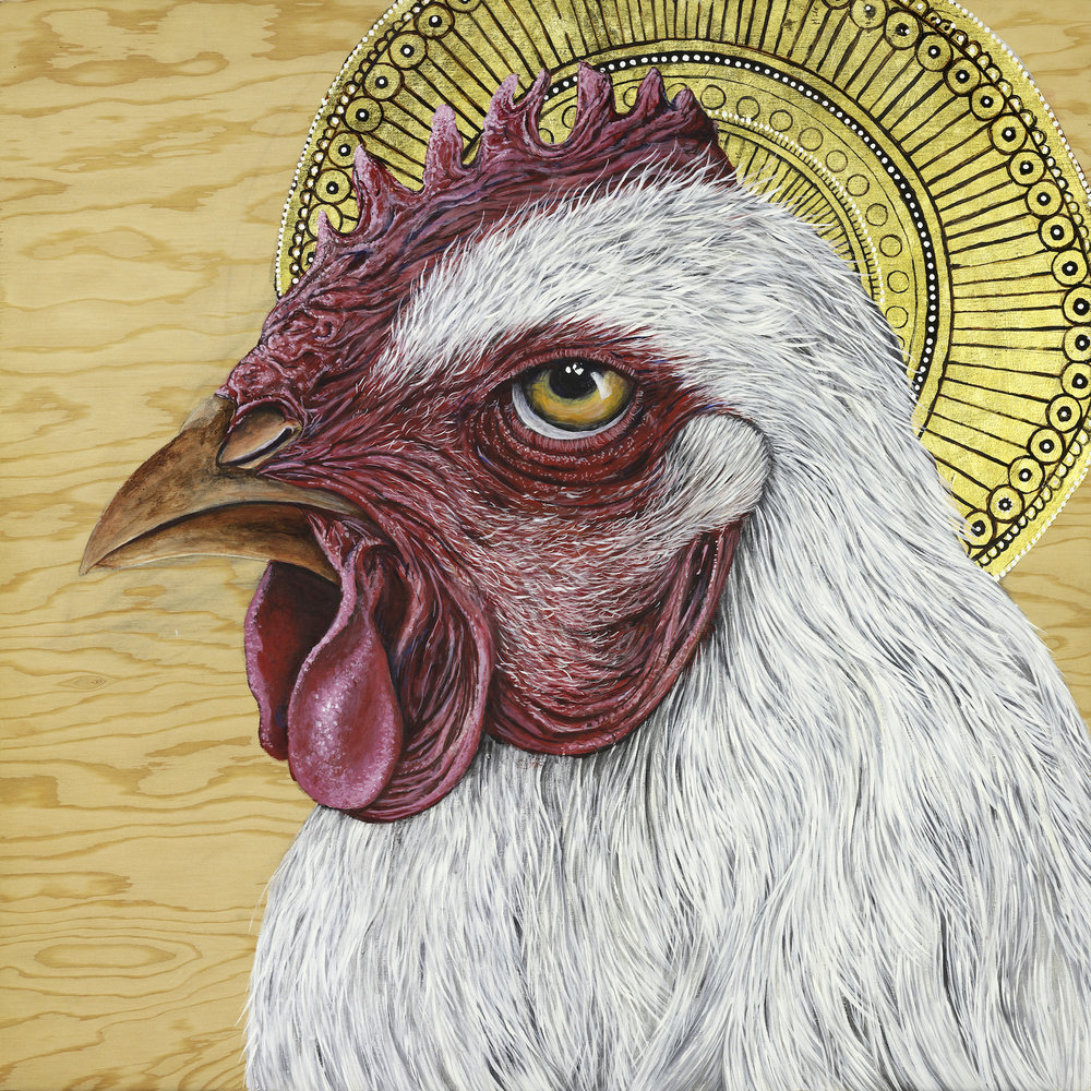 St. Cornish: Patron Saint of Broilers