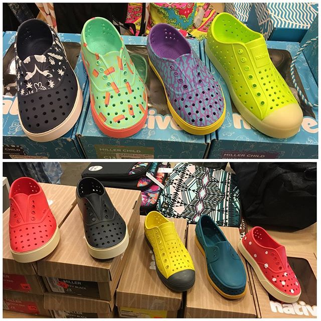How cute are these @nativeshoes ?! Stop by because many of them are on sale!😜🎉 #UpandRiding #KahalaMall