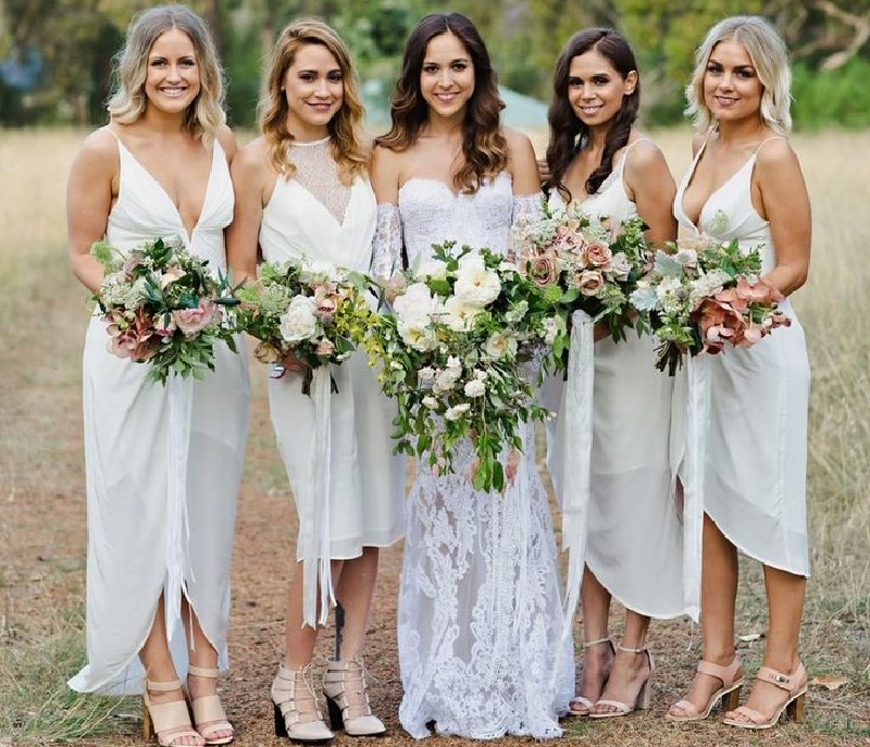 Wearing white to a wedding majestic wedding djs perth wedding remember how refined the middleton sisters looked at the not so recent royal wedding both wearing white junglespirit Image collections