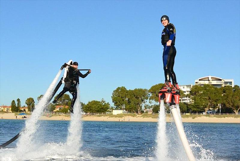 Perth bucks party jetpacking