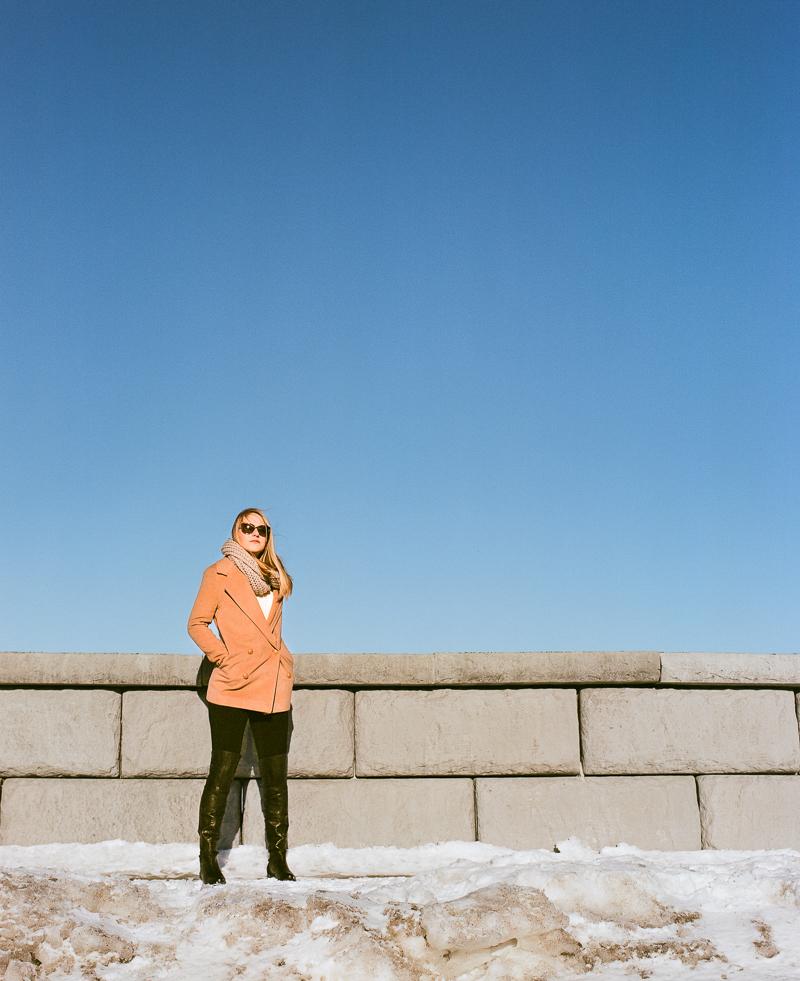 Model: Makayla Byrne | Mamiya RB67 | Fujifilm Pro 400H